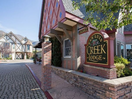 San Luis Creek Lodge, pet friendly hotels in San Luis Obispo, San Luis Obispo dog friendly hotels